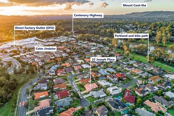 Picture of 22 Joseph Place, SINNAMON PARK QLD 4073