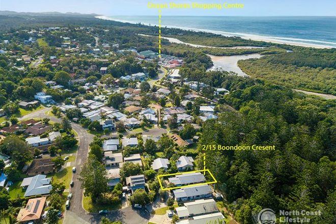 Picture of 2/15 Boondoon Crescent, OCEAN SHORES NSW 2483