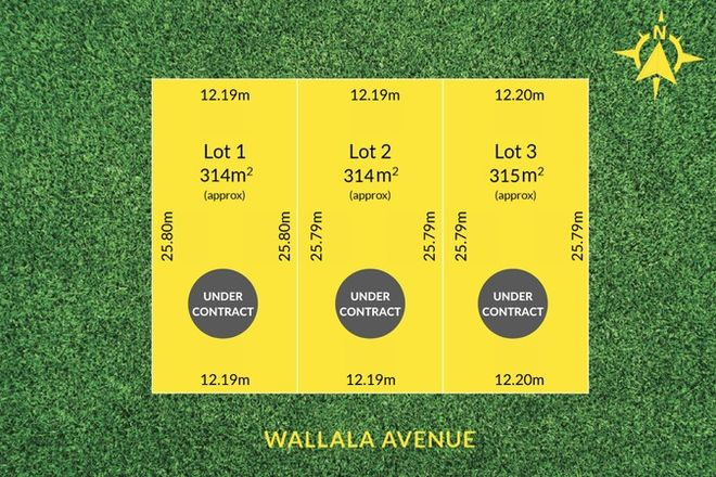 Picture of Lot 102, 26 & 28 Wallala Avenue, PARK HOLME SA 5043