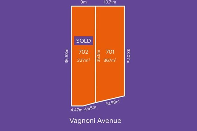 Picture of Lot 701, 28 Vagnoni Avenue, PARADISE SA 5075