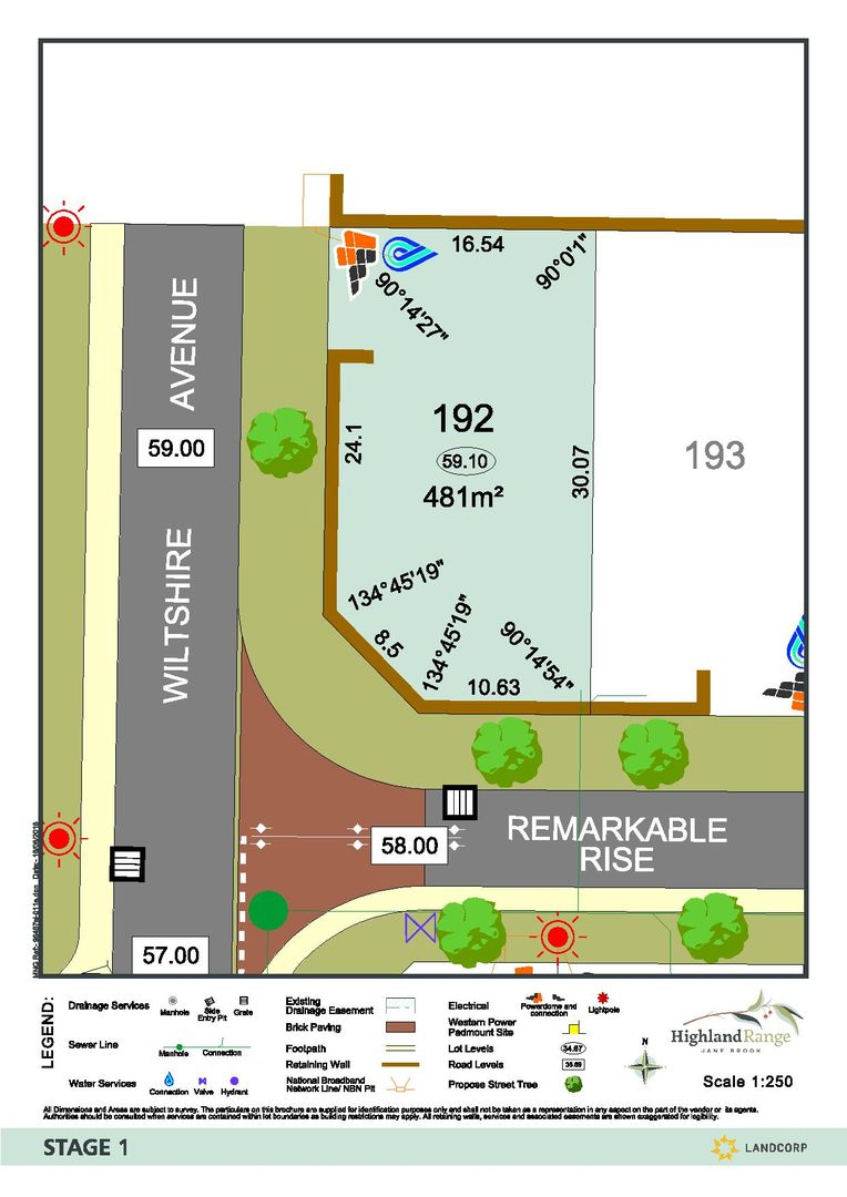 Lot 192 Corner of Remarkable Rise & Wiltshire Avenue, Jane Brook WA 6056, Image 0