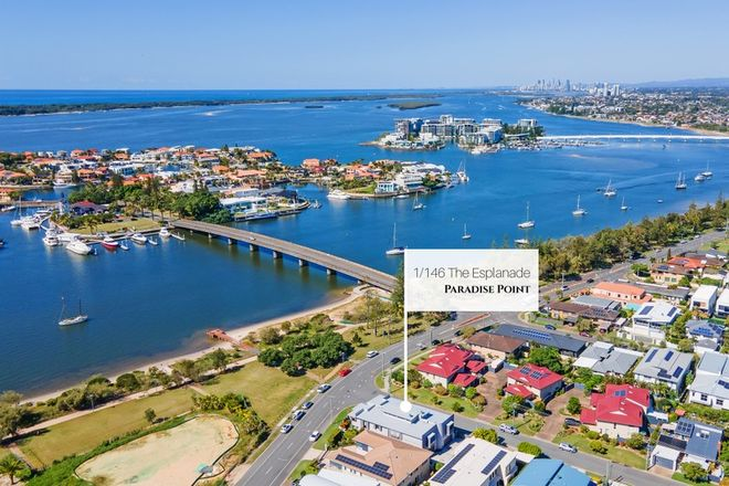 Picture of 1/146 The Esplanade, PARADISE POINT QLD 4216
