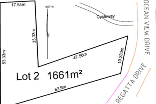 Picture of Lot Lot/2 Ocean View Drive, VALLA BEACH NSW 2448