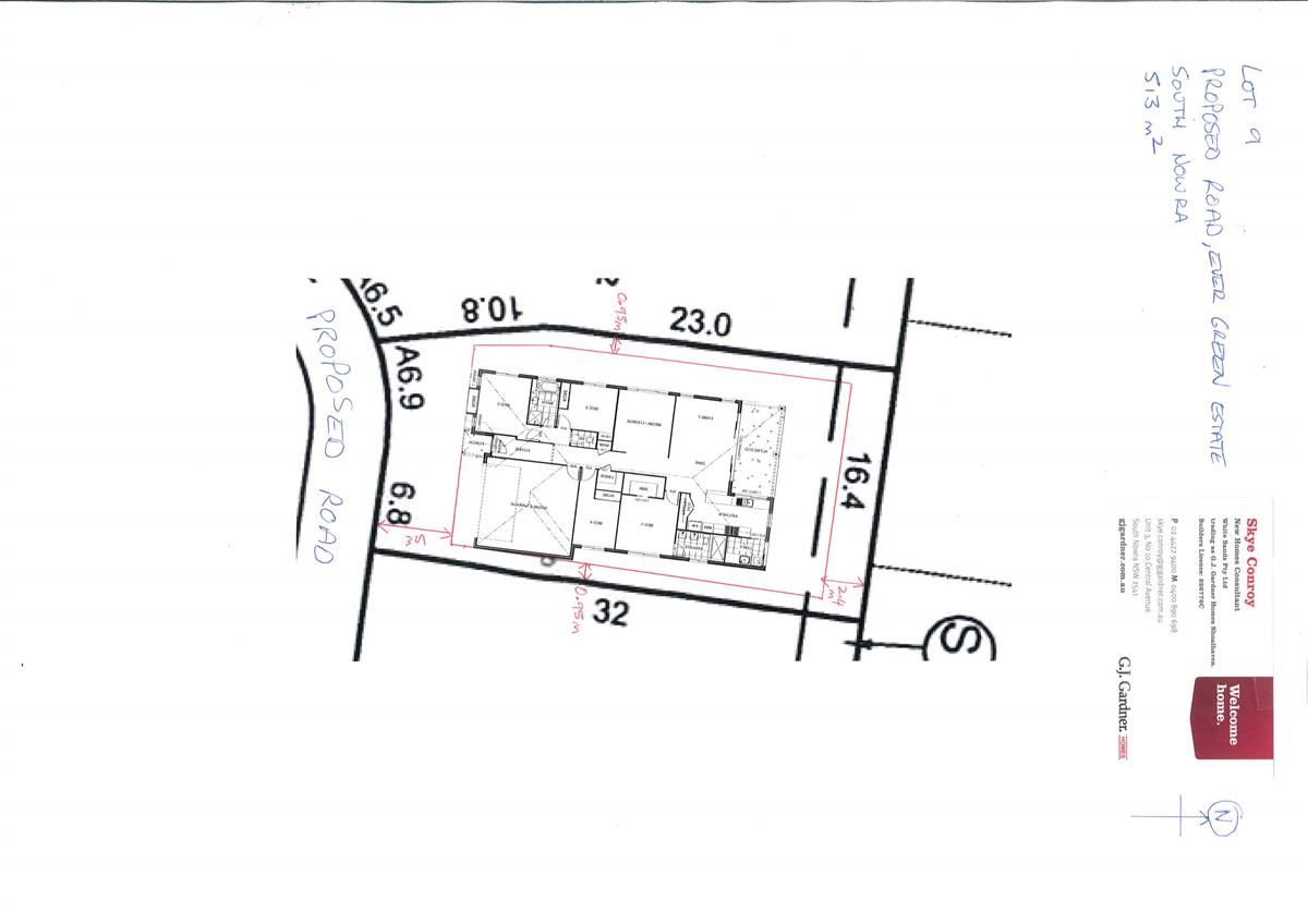 Lot 9 Proposed Road, Evergreen Estate, South Nowra NSW 2541, Image 1