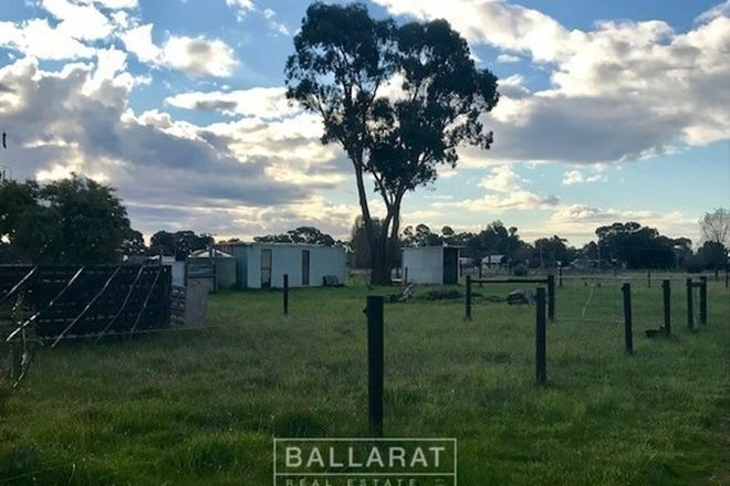 Picture of 54 Belfast  Road, CARISBROOK VIC 3464