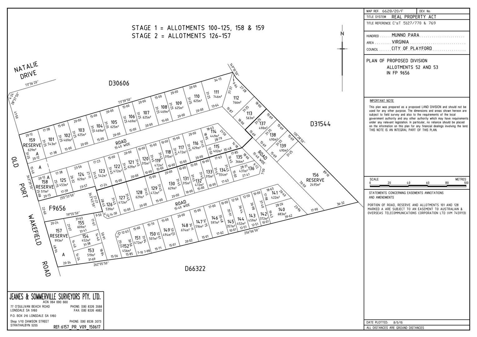 Lot 52 & 53 Old Port Wakefield Rd , Virginia SA 5120, Image 1