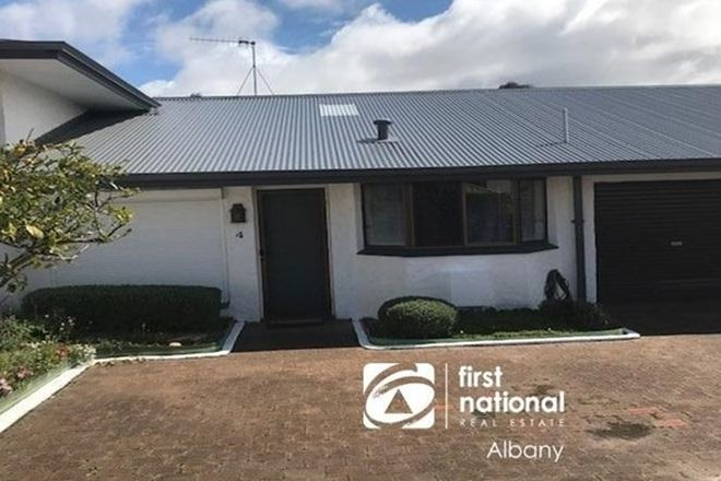 Picture of 4/142 Hare Street, MOUNT CLARENCE WA 6330