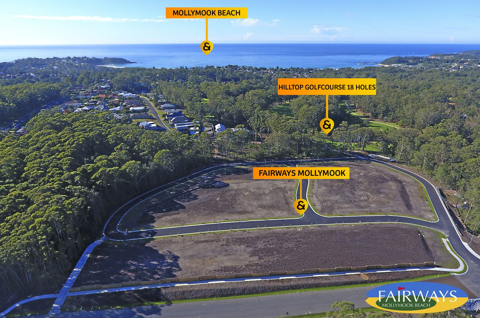 Lot 15 Brookwater Crescent - Fairways, Mollymook Beach NSW 2539, Image 2