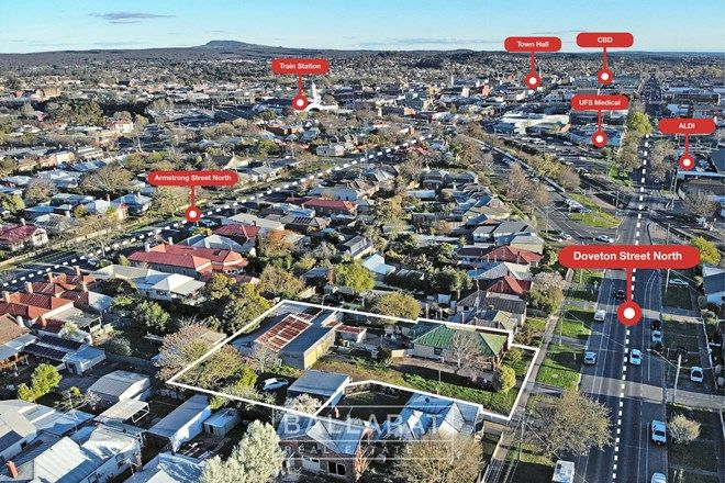 Picture of 310-312 Doveton Street North, SOLDIERS HILL VIC 3350