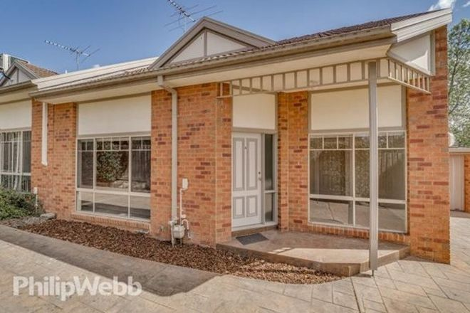 Picture of 4/180 Central Road, NUNAWADING VIC 3131