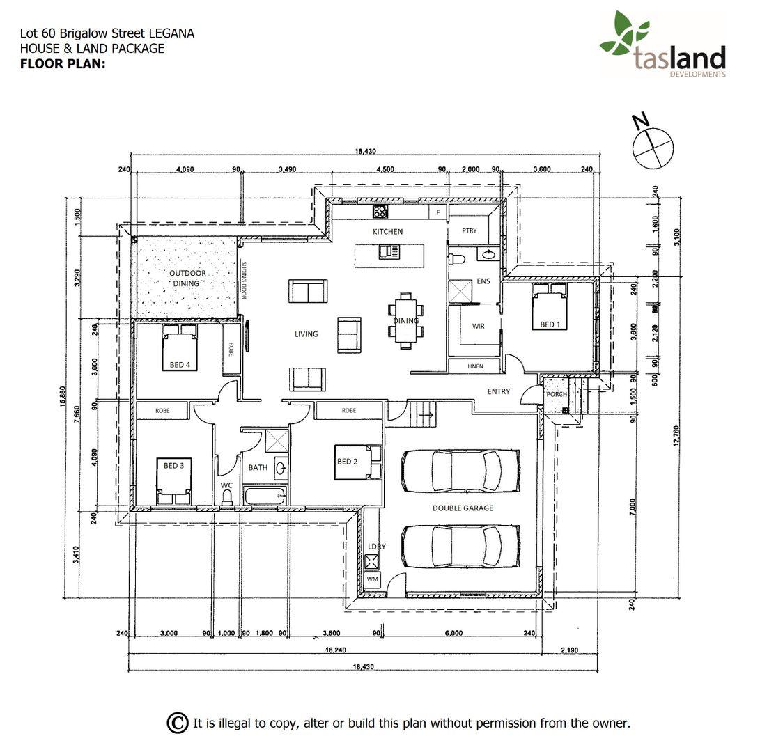 Lot 60 Brigalow Street, Legana TAS 7277, Image 2