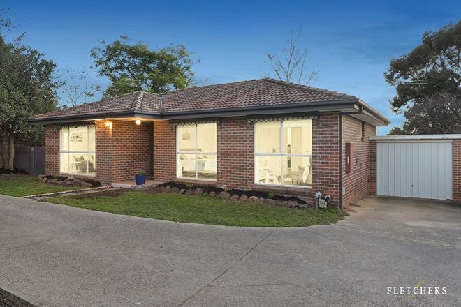 Picture of 4/8 Alexandra Road, RINGWOOD EAST VIC 3135