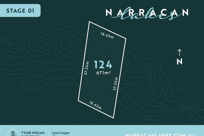 Picture of Lot 124 Narracan Lakes, NEWBOROUGH VIC 3825