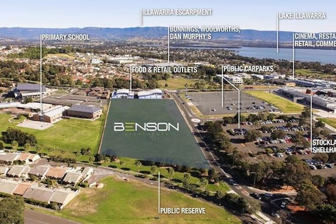 Picture of A211/Lot 4212  Benson Avenue, SHELLHARBOUR NSW 2529