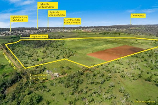 Picture of Lot 5 Browne Road, HIGHFIELDS QLD 4352