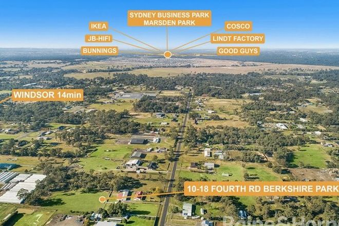 Picture of 10-18 FOURTH ROAD, BERKSHIRE PARK NSW 2765