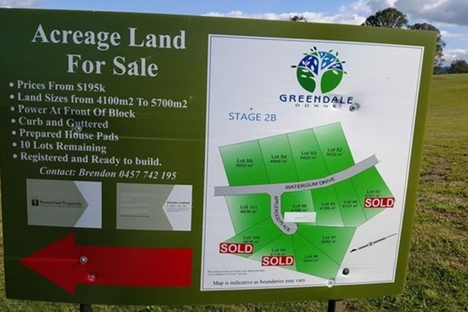 Picture of Lot 27 Watergum Drive, PIE CREEK QLD 4570