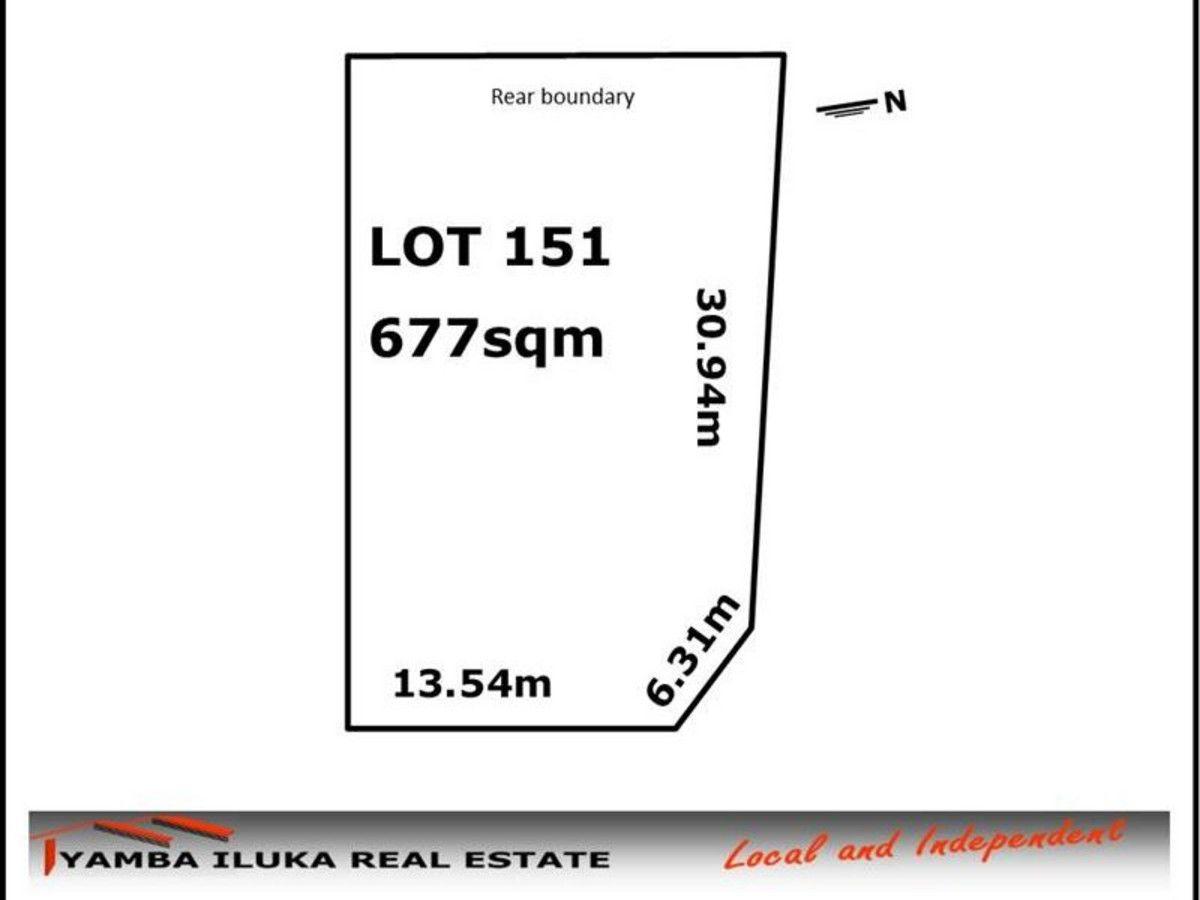 Lot 151 -22 Carrs Drive, Yamba NSW 2464, Image 1