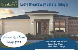 Picture of LOT 14 Break Away Estate, Bunyip VIC 3815