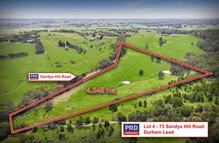 Picture of Lot 4 -75 Sandys Hill Rd, Durham Lead VIC 3352