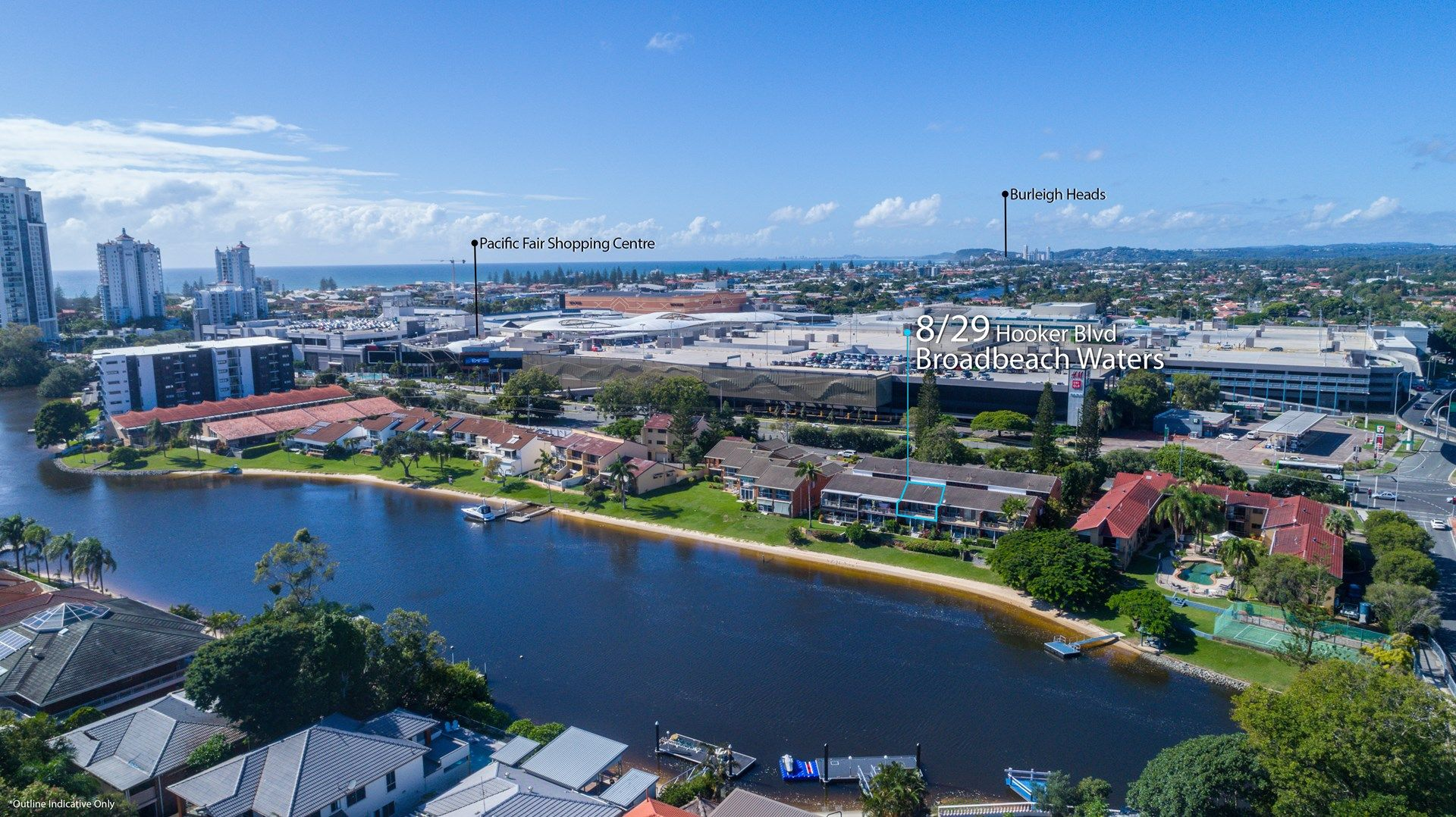 8/29 Hooker Boulevard, Broadbeach Waters QLD 4218, Image 1