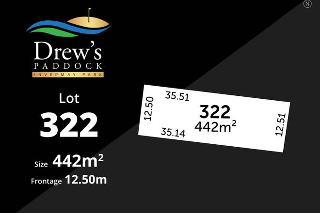 Picture of Drew's Paddock/Lot 322 Divot Circuit, INVERMAY PARK VIC 3350