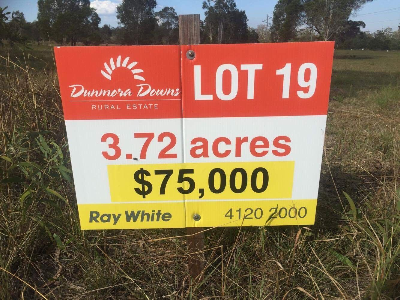 Lot 19 Wallum Froglet Court, Dunmora QLD 4650, Image 0
