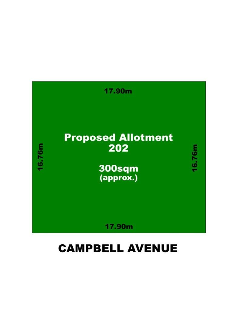 Allotment 202 Campbell Avenue, Rosewater SA 5013, Image 0