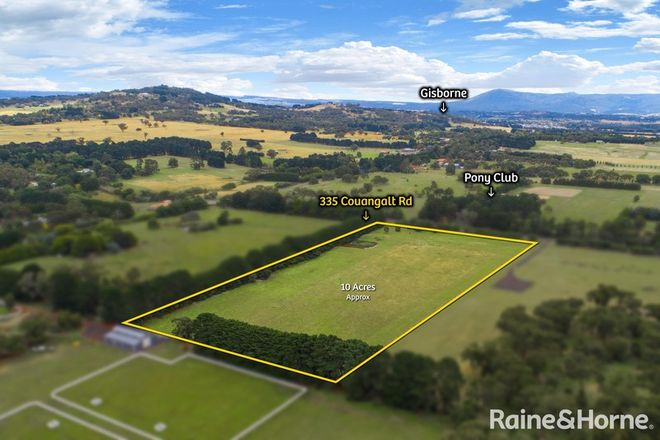Picture of 335 Couangalt Road, GISBORNE SOUTH VIC 3437