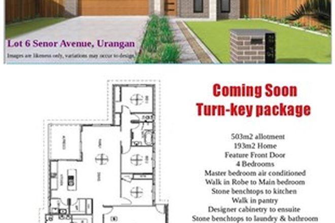Picture of Lot 6 Senor Avenue, URANGAN QLD 4655