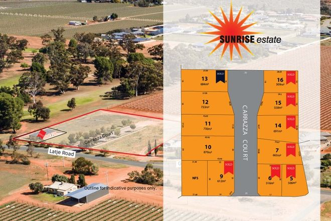 Picture of Lots 5-16 Latje Road, ROBINVALE VIC 3549