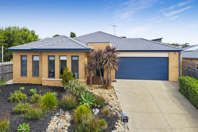 Picture of 3 Warrin Street, TORQUAY VIC 3228