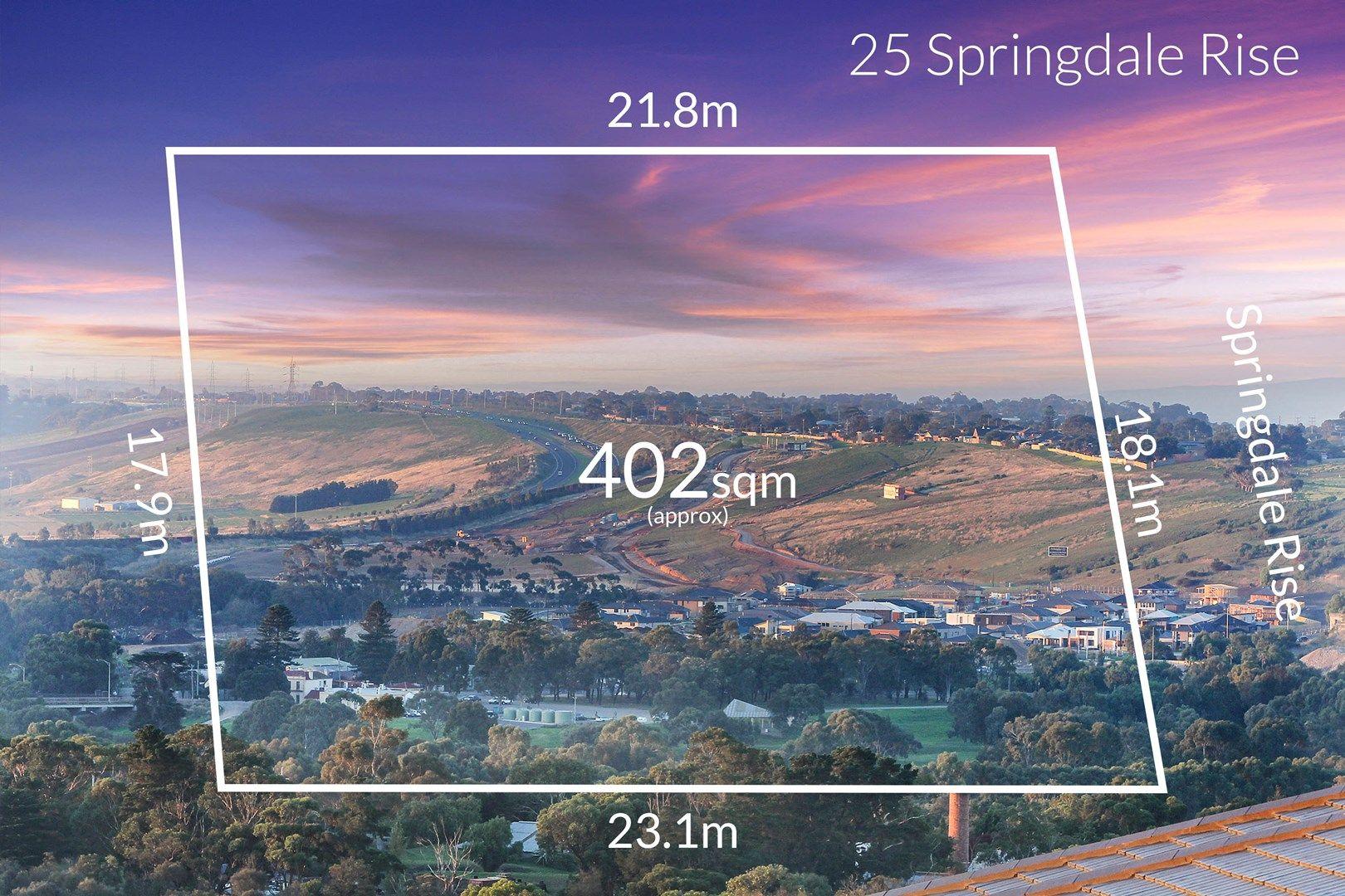 25 Springdale Rise, Highton VIC 3216, Image 0