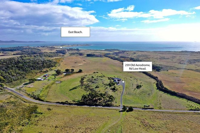 Picture of 259 Old Aerodrome Road, LOW HEAD TAS 7253