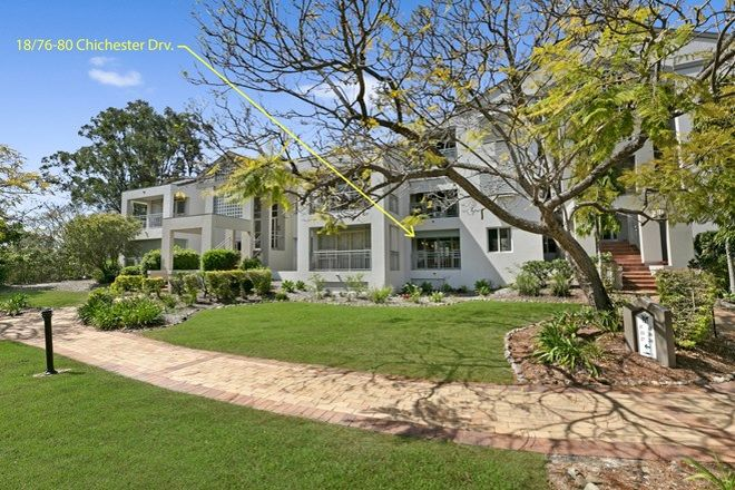 Picture of 18/76-80 Chichester Drive, ARUNDEL QLD 4214