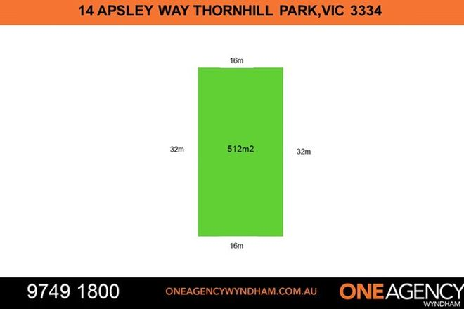 Picture of 14 Apsley Way, THORNHILL PARK VIC 3335