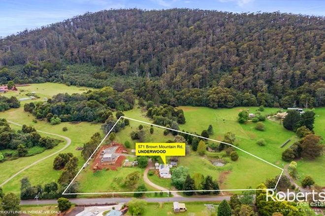 Picture of 571 Brown Mountain Road, UNDERWOOD TAS 7268