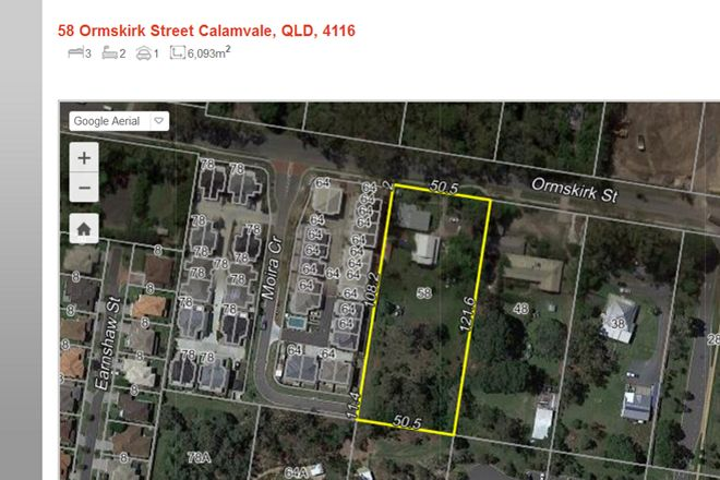 Picture of 58 Ormskirk Street, CALAMVALE QLD 4116