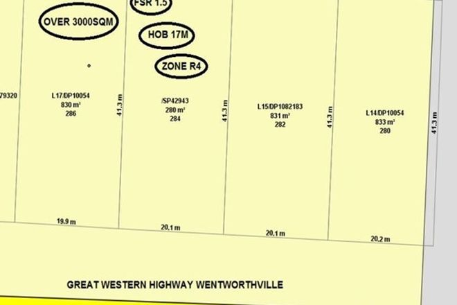 Picture of 284 Great Western Highway, WENTWORTHVILLE NSW 2145