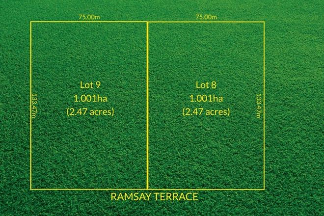Picture of Lots 8 & 9 Ramsay Terrace, BORDERTOWN SA 5268