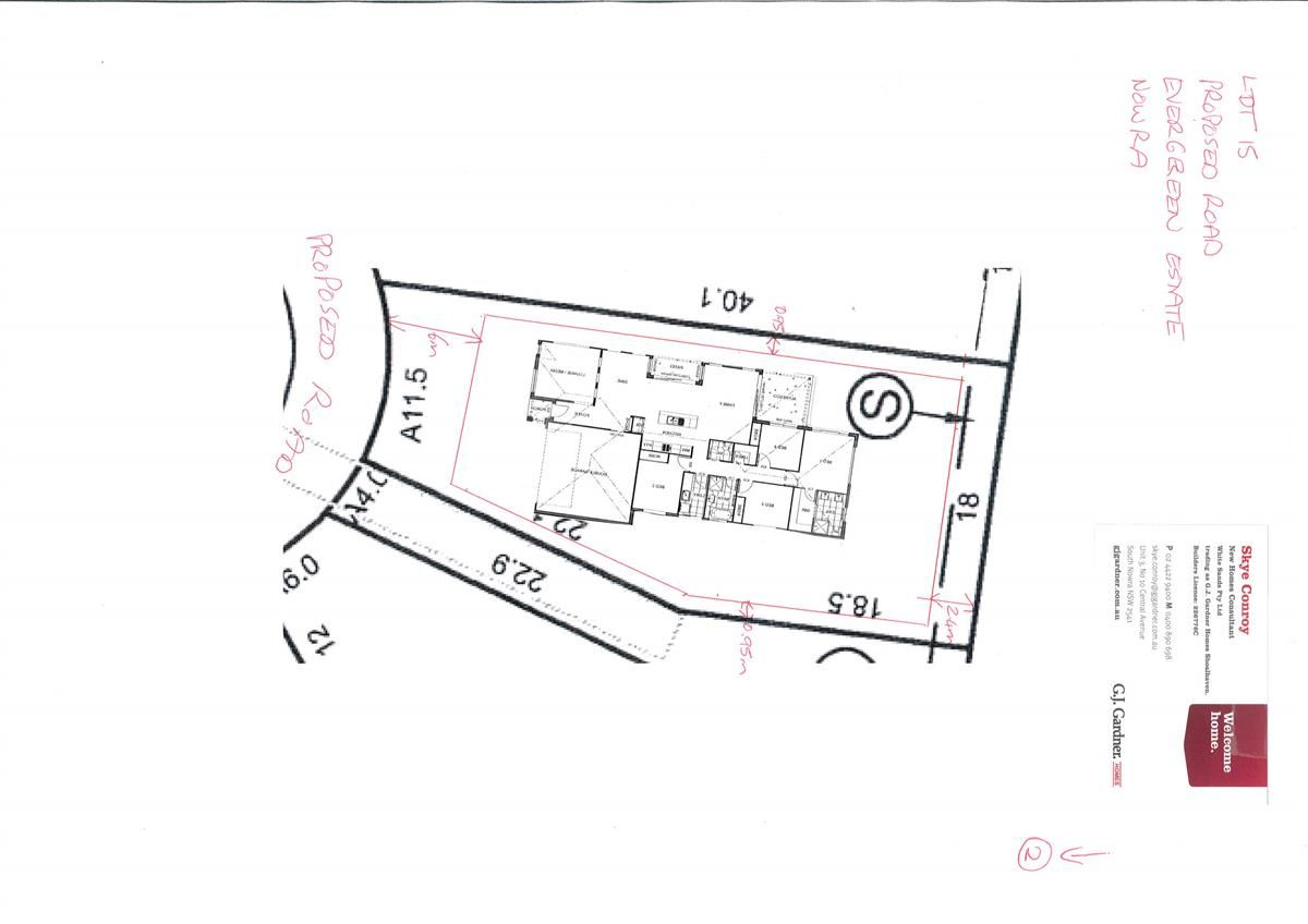 Lot 15 Proposed Road, Evergreen Estate, South Nowra NSW 2541, Image 1