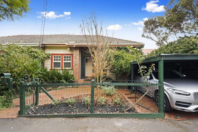Picture of 2 Carnarvon Street, HAWTHORN EAST VIC 3123