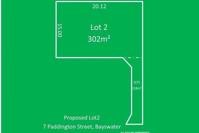 Picture of Lot 2/7 Paddington Street, BAYSWATER WA 6053