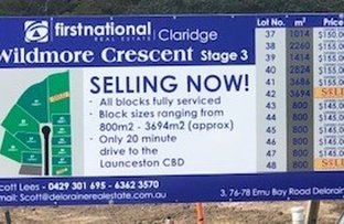 Picture of Lot 37, 38, 39 & 40 Wildmore Crescent, Exeter TAS 7275
