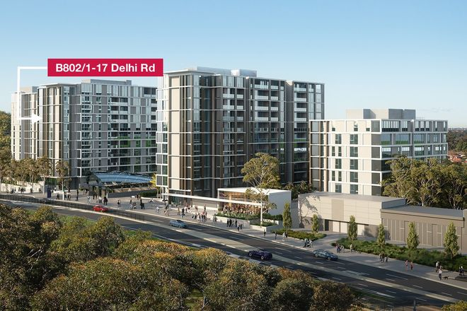 B802/1-17 Delhi Road, NORTH RYDE NSW 2113