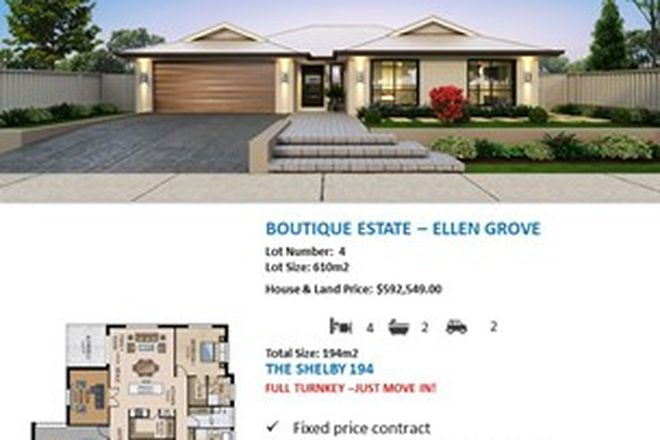 Picture of ELLEN GROVE QLD 4078