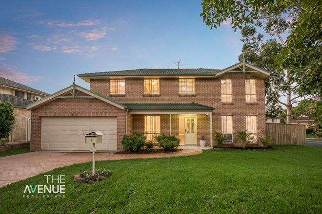 Picture of 1 Cobblers  Close, KELLYVILLE NSW 2155