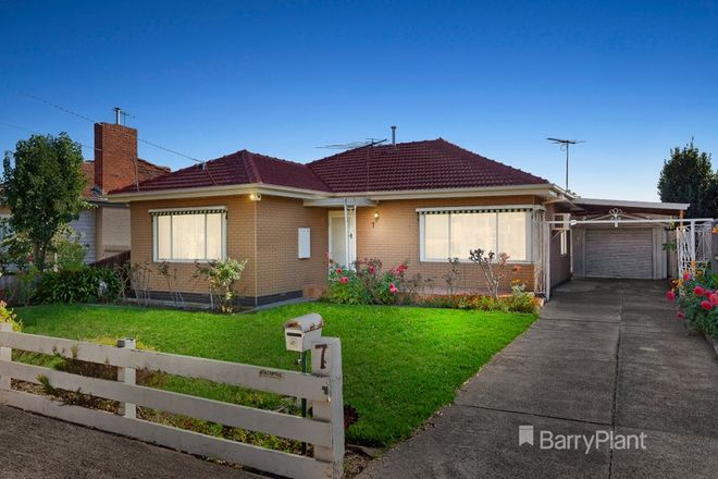 Picture of 7 Allan Street, FAWKNER VIC 3060