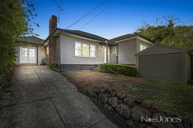 Picture of 13 Glen Road, MITCHAM VIC 3132