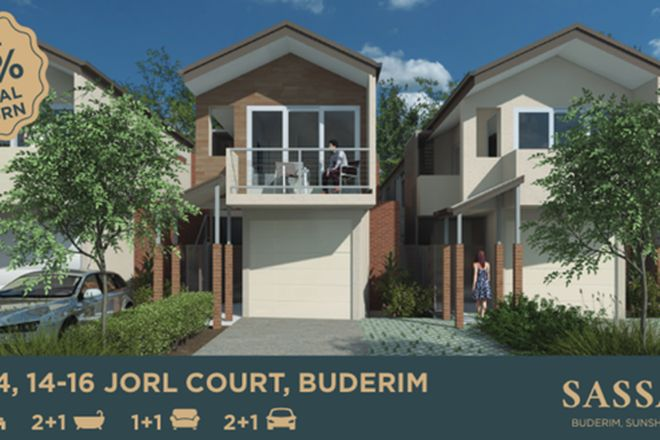 Picture of LOT 4/14-16 Jorl Court, BUDERIM QLD 4556
